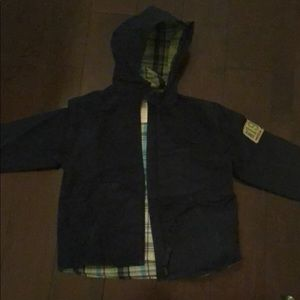 Carters hooded jacked with hood size (4) S